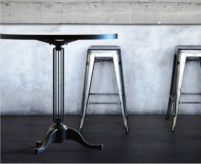Restaurant Table bases Modern Dining Table Metal Legs Black Pedestal Table Legs
